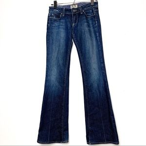 Paige Laurel Canyon Dramatic Flare Bottom Jeans